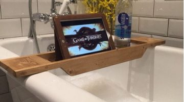 JOI Wooden Bath Caddy