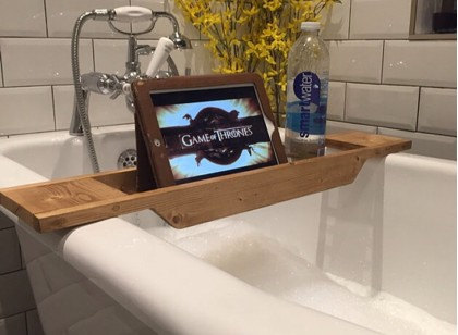 JOI Wooden Bath Caddy