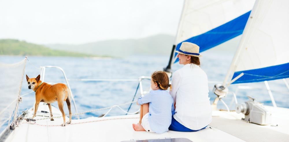 Luxury Yacht Family