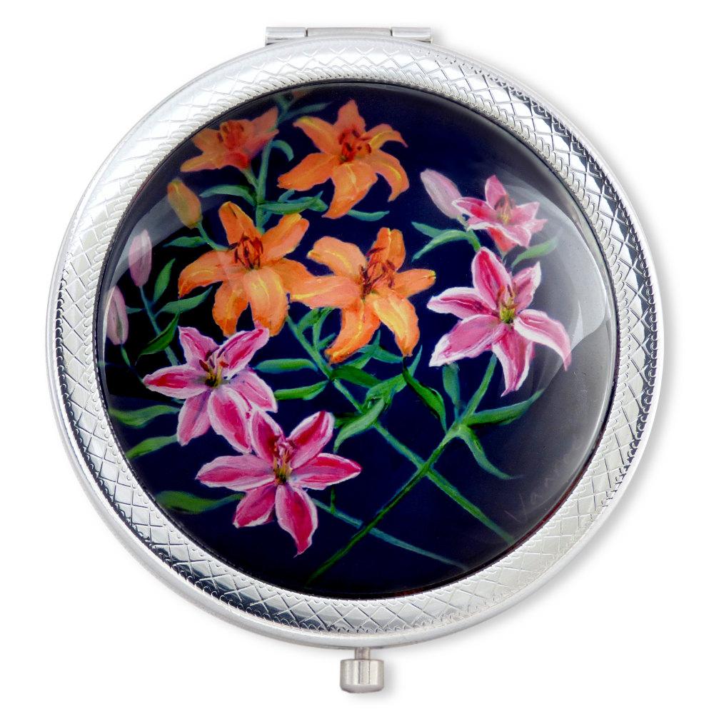 vanroe-lilies-compact-mirror-1000