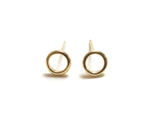 plain-mini-hollow-circle-earrings-gold-alexi-london