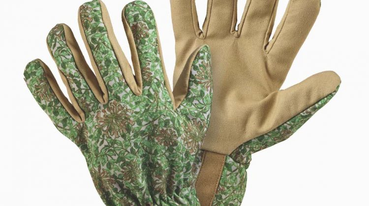 Beautiful soft William Morris Gloves