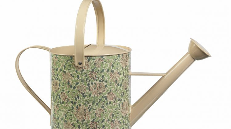 A sturdy an decorative William Morris watering can