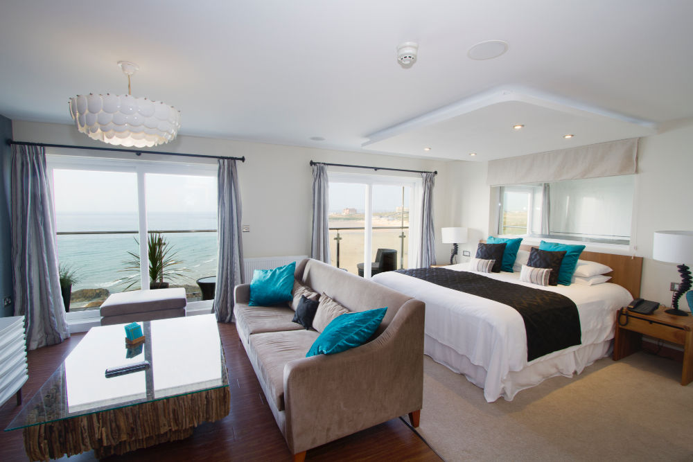 Fistral Beach Hotel Bedroom