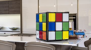 Rubiks Cube Fridge Review