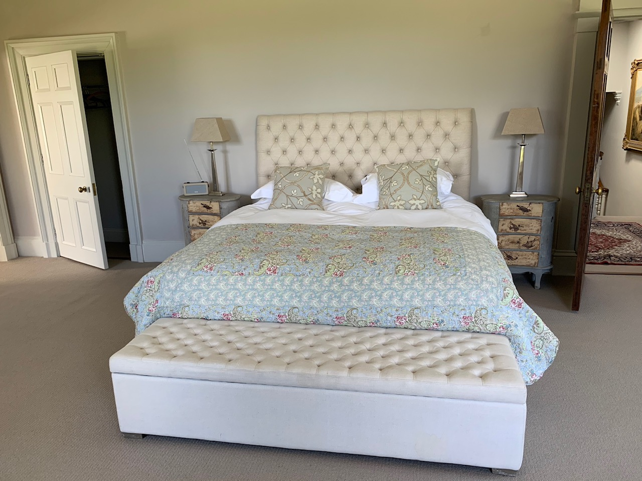 Burncoose House Master Bedroom
