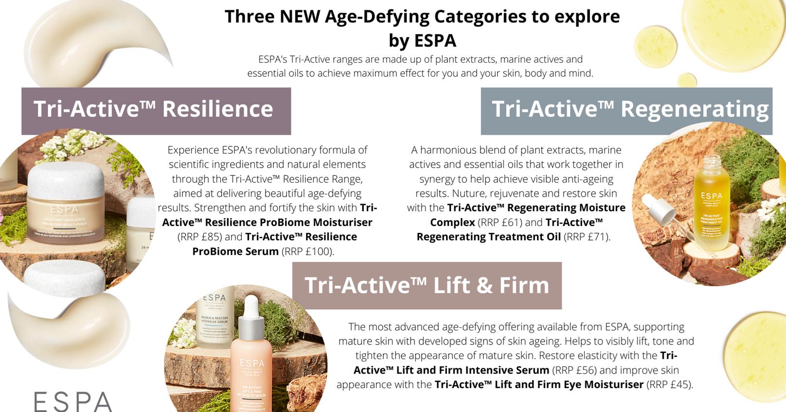 ESPA tri-Active Rejuvenating Treatment Oil