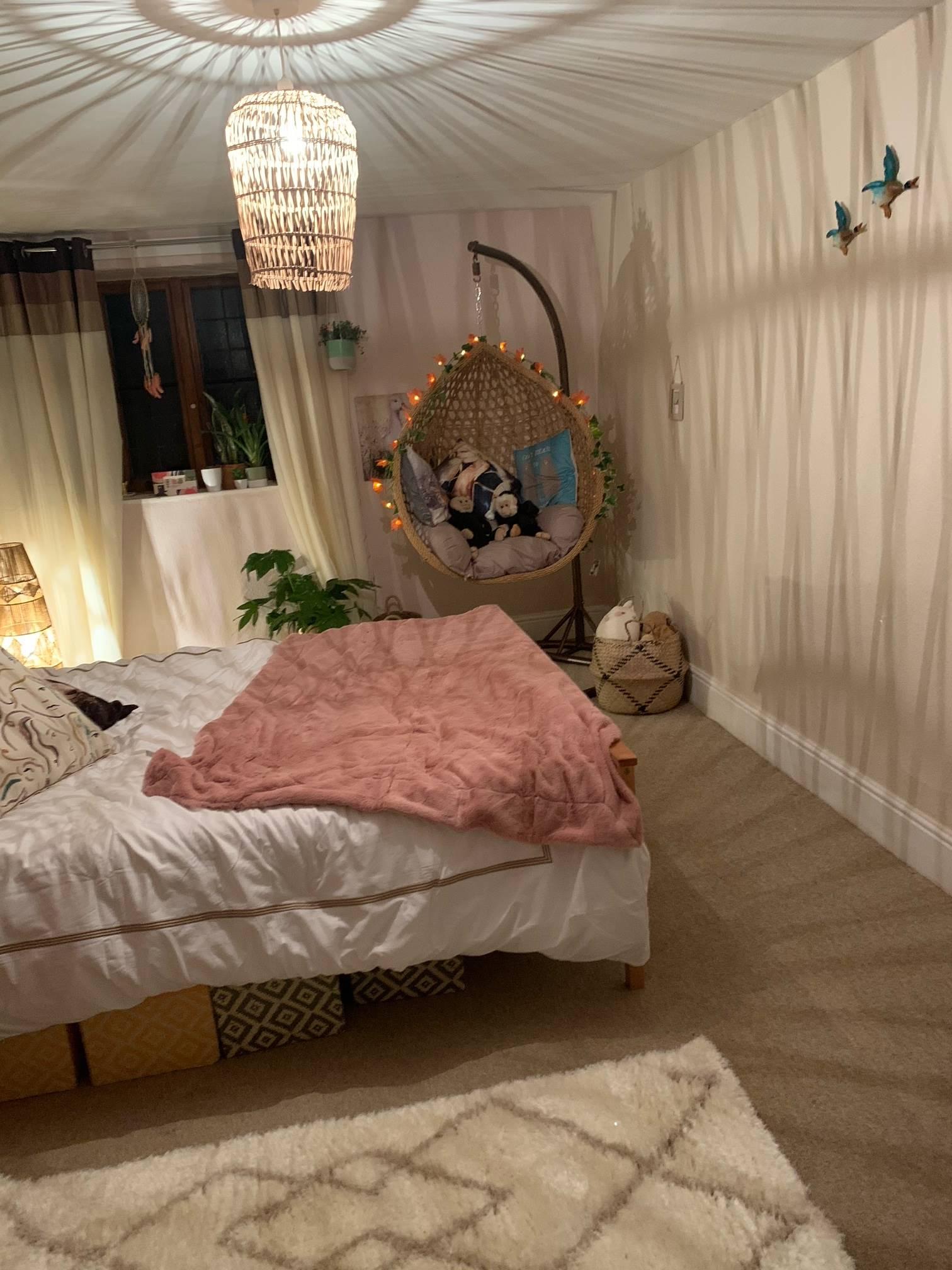 Boho Bedroom Makeover